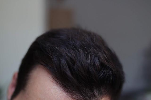 efekt suchego szamponu