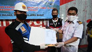 Kantor Syahbandar  Tanjung Priok Kirim Bantuan  Bencana Ke Berbagai Daerah