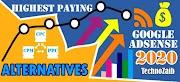 Top 10 Best Highest Paying Google AdSense Alternatives 2020