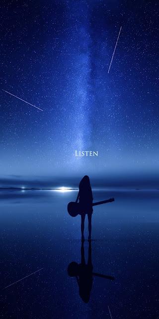 Màn đêm tĩnh lặng giữa bầu trời sao tuyệt trần