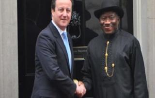 Ex-UK Prime Minister, Jonathan, schoolgirls