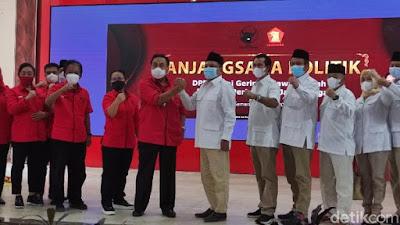 Ramai Isu Prabowo-Puan, Bambang Pacul Temui Pimpinan Gerindra di Daerah