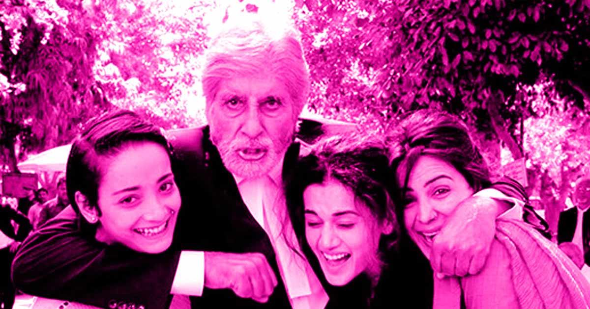 फिल्म रिव्यू : 'पिंक' अमिताभ बच्चन -  पुराना वृद्ध वकील - शशक्त अभिनय