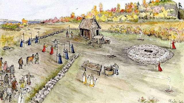 Viking 'parliament' site uncovered on Scottish island
