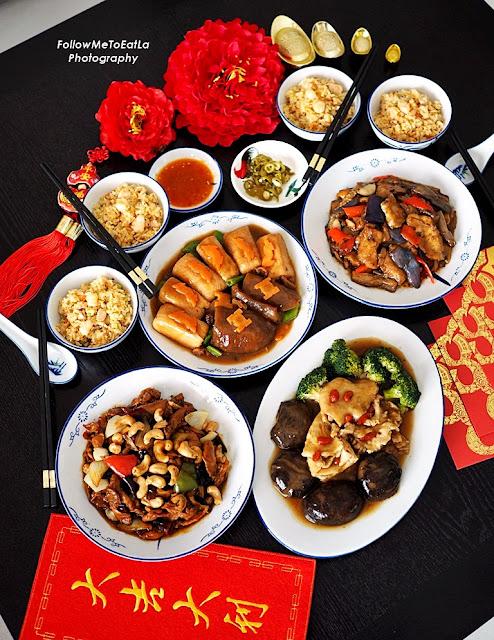 Dine at Home: Happiness Set Menu  RM 238