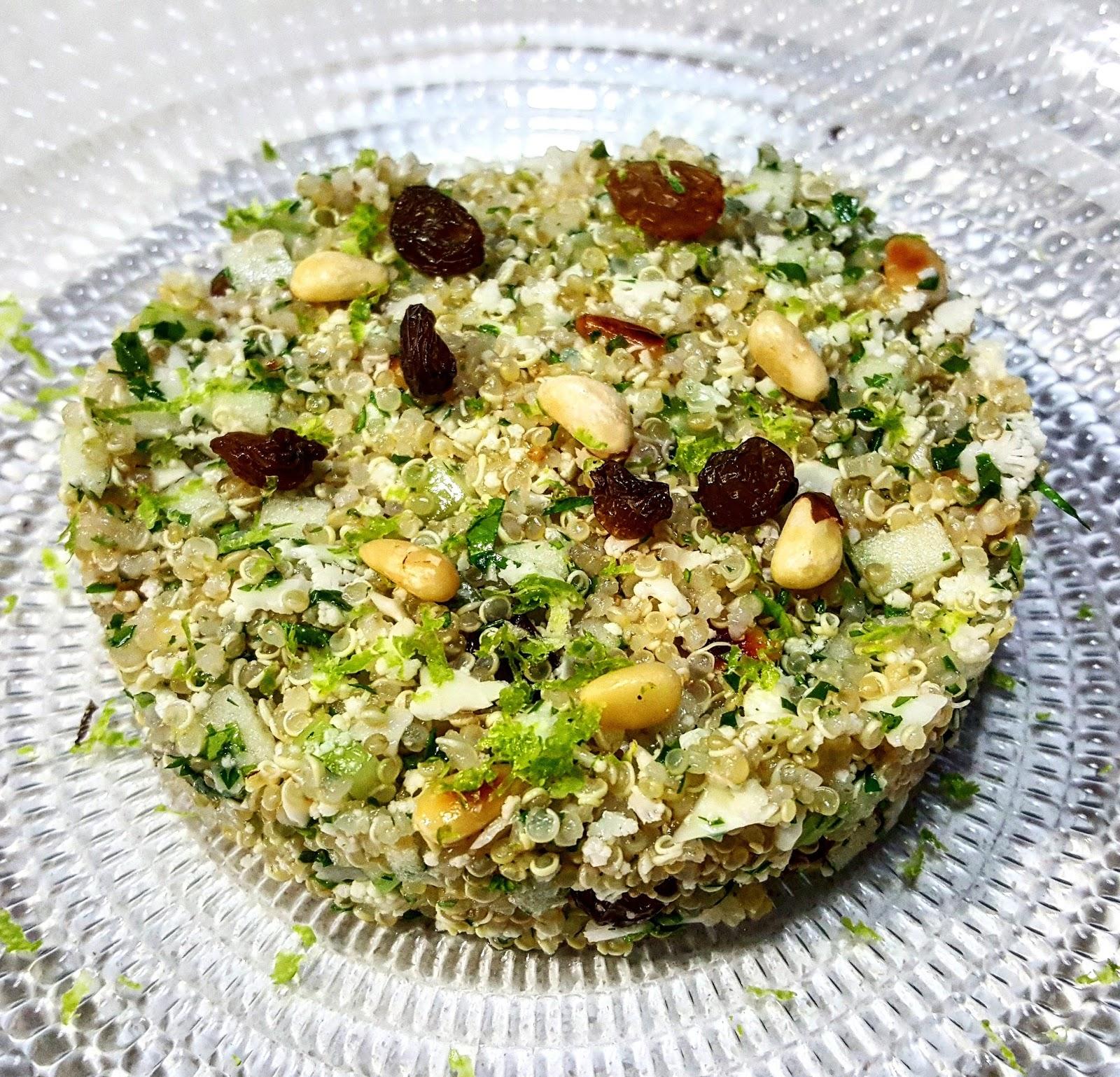 Solo de mortero ensalada de quinoa y cusc s de coliflor for Cuanto se cocina la quinoa