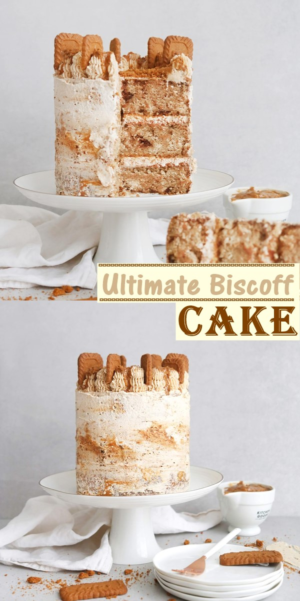 Ultimate Biscoff cake recipe #cakerecipes