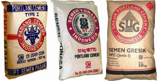 Semen Portland (PC) | Sifat, Susunan, Kekuatan, Jenis dan Cara Penyimpanan
