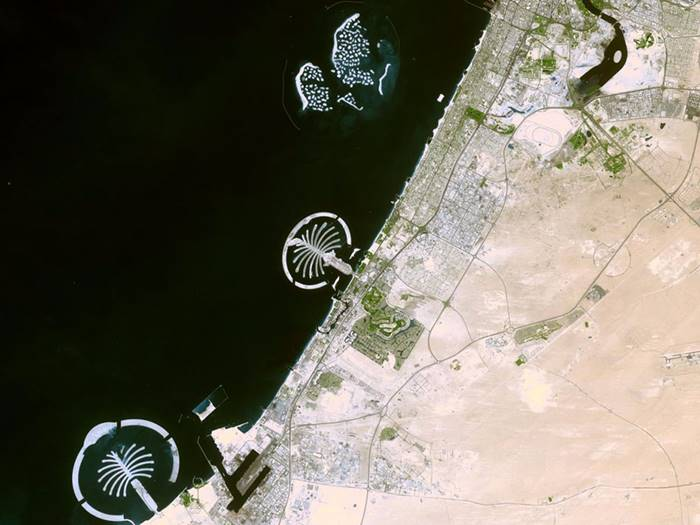 6 Man-made things that are visible from space