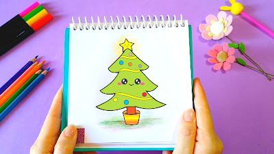 Knanda Artes Diy Como Desenhar Coisas Fofas Diy árvore