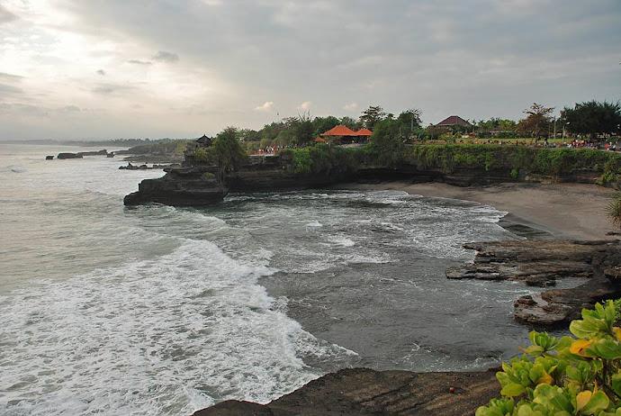 Atardecer en la costa de Bali