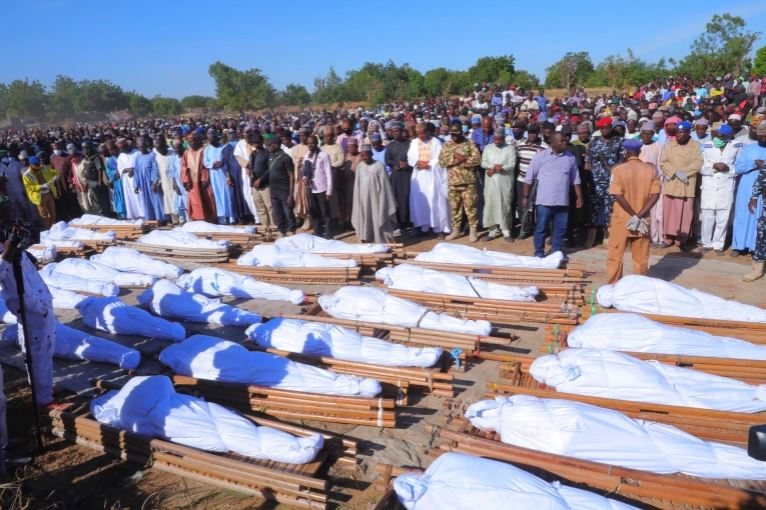 110 Farmers Were Massacred By Boko Haram On Saturday - UN Says #Arewapublisize