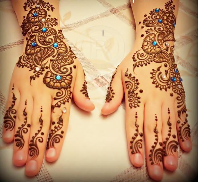 Fancy Mehndi Design: Eid Arabic Mehndi Fancy Designs