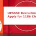 UPSSSC Recruitment 2019: Apply for 1186 Junior Assistant (Clerk)