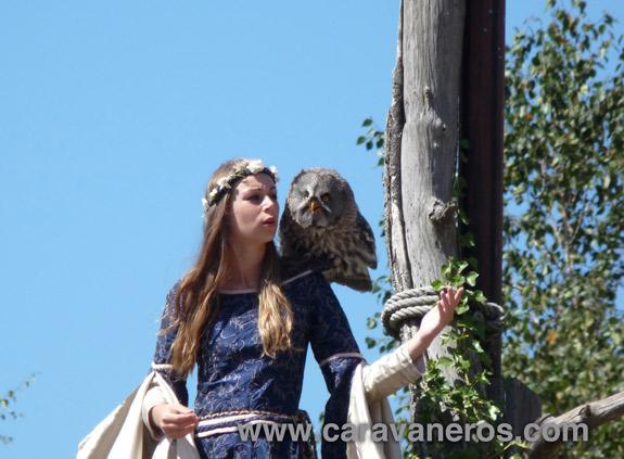 Foto del Puy du Fou. Espectáculo de aves rapaces, sueños y sorpresas aéreas | caravaneros.com