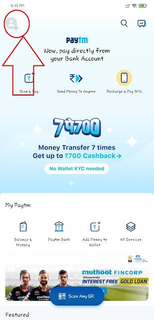 Delete Paytm Account Permanently