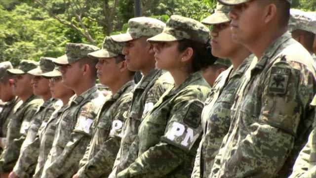 Refuerzan militarización en la frontera sur de México