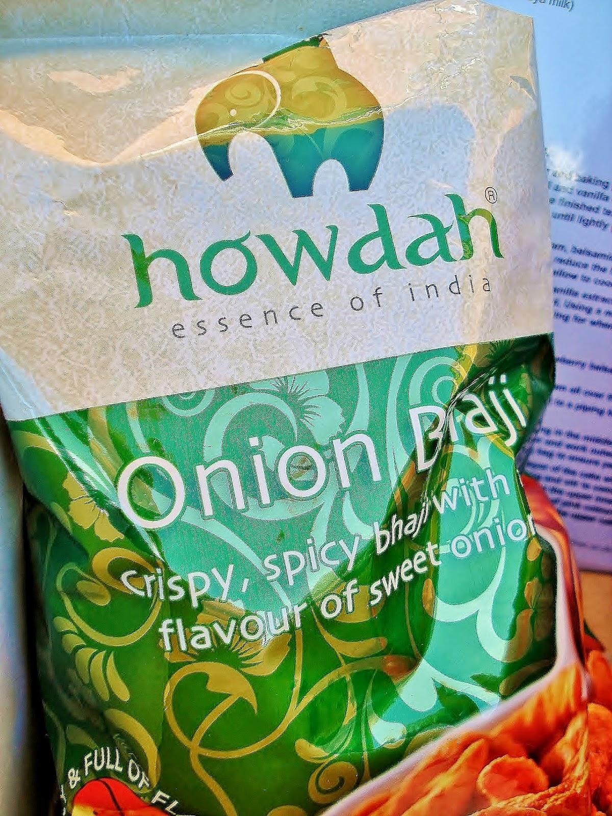 Howdah Onion Bhaji