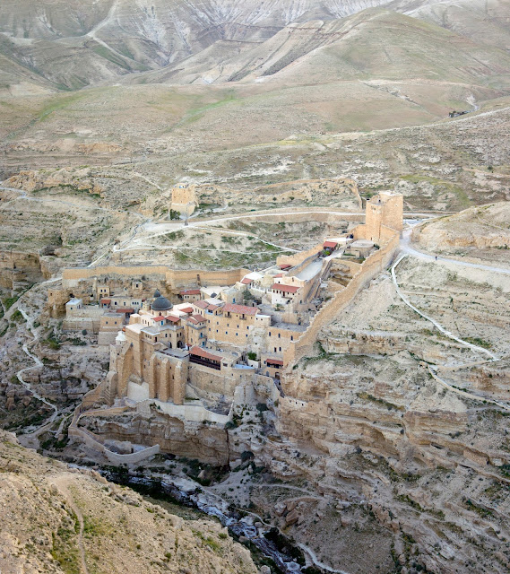 Ancient Orthodox monastery in Palestine under UNESCO consideration