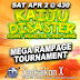 Kaiju Disaster Mega Rampage Tournament SAT APR 2 at Zenkaikon X Lancaster PA