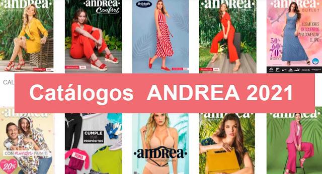 Catalogos digitales ANDREA Primavera 2021 ( completo )