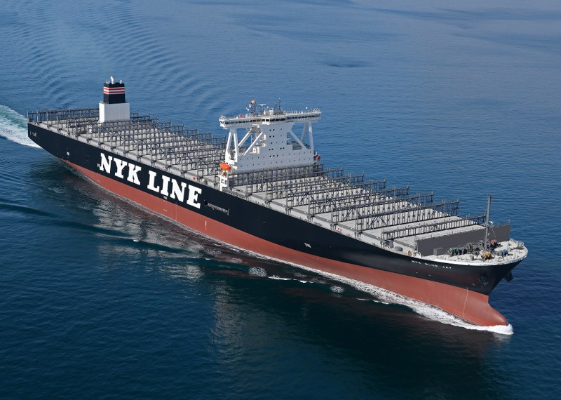 NYK Takes Delivery of 14,000 TEU Container Ship