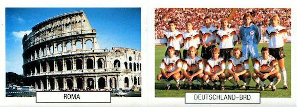 ITALIA 90 ARGENTINA -New FABBRI Euroflash -Figurina-Sticker n 81