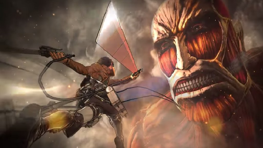 Attack on titan game ps4