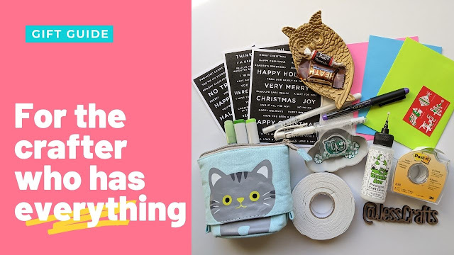 What to get the crafter who has everything Cardmaker Stamper Gift Guide by Jess Crafts