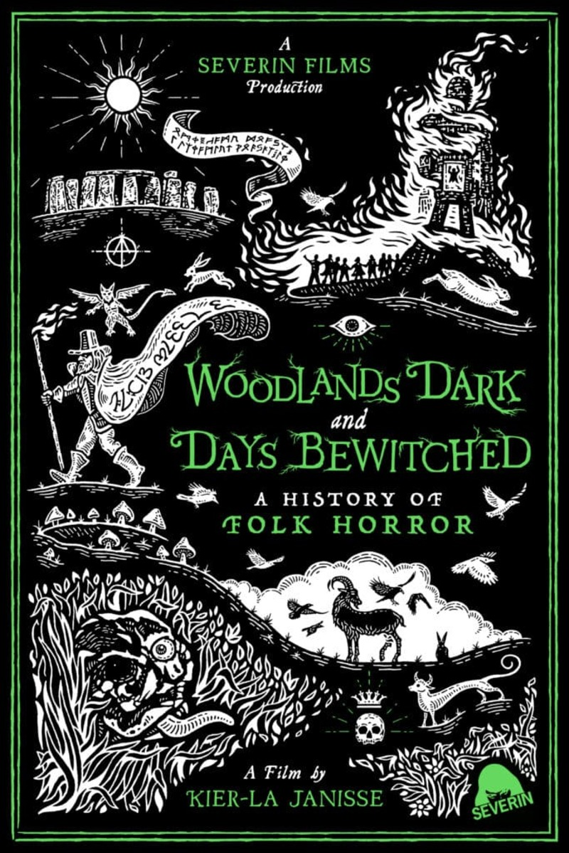 Woodlands Dark and Days Bewitched: A History of Folk Horror poster