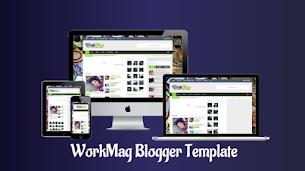 WorkMag Responsive Blogger Template - Responsive Blogger Template