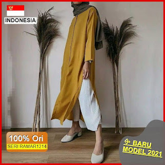 RAMAR1214 NEW SET ORIA BASIC DRESS BARU 2021