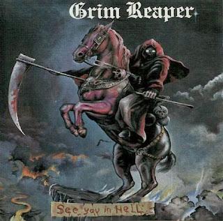 """Το album των Grim Reaper """"See You In Hell"""""""