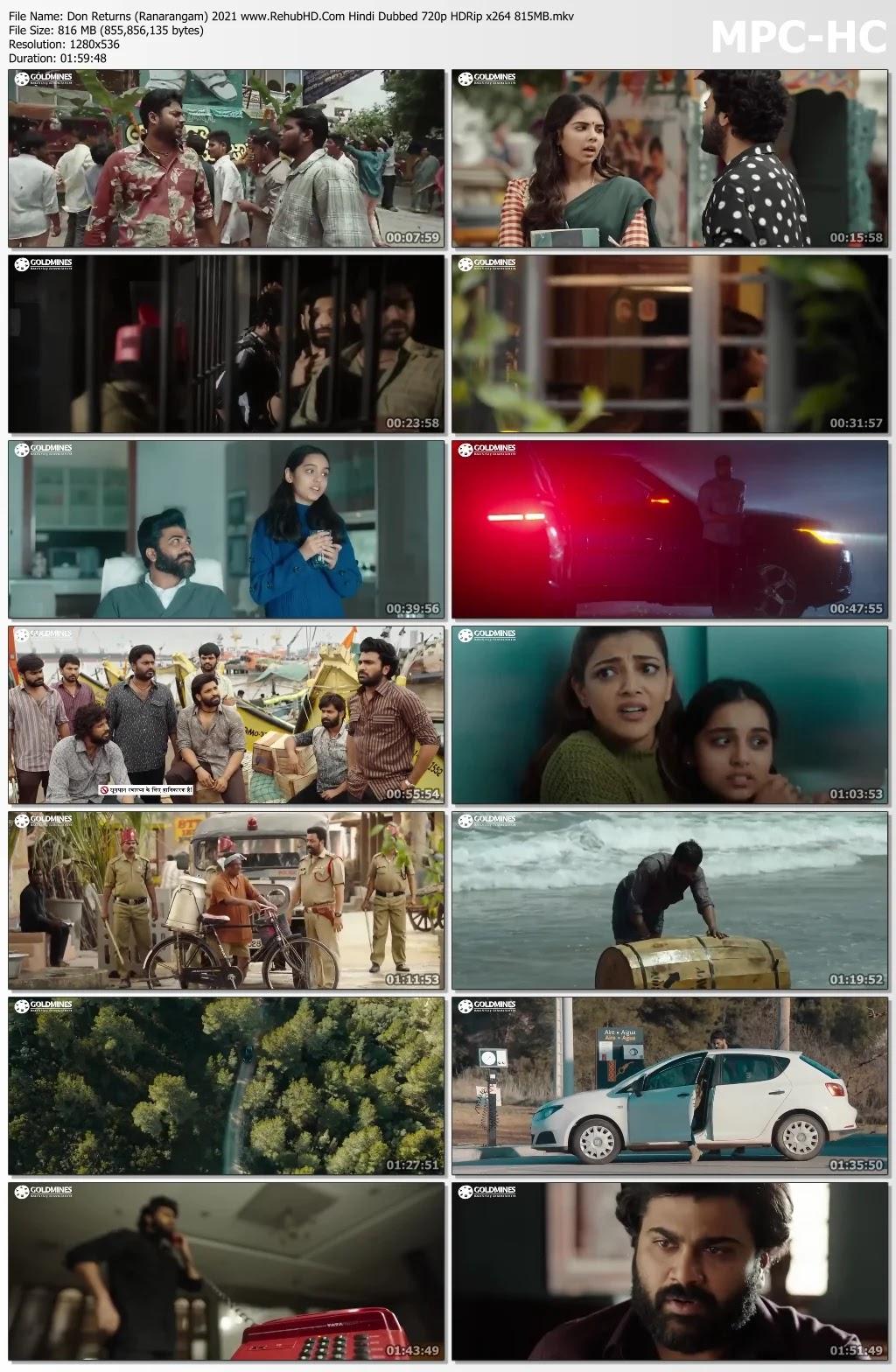 don returns ranarangam hindi dubbed download