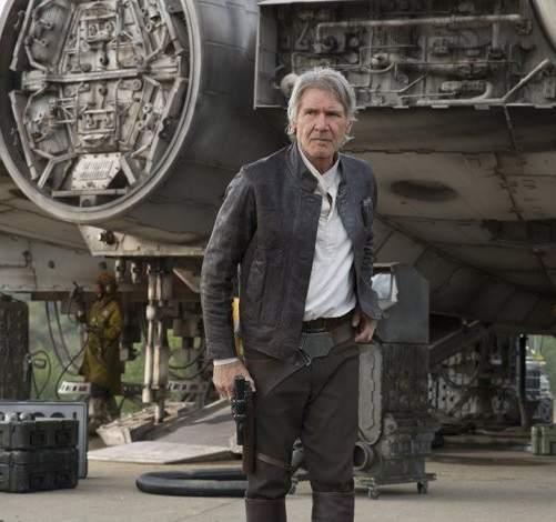 Harrison Ford en 'Star Wars - El despertar de la Fuerza'