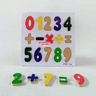 Chunky Puzzle Angka
