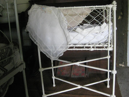 Were you born in Gunning? Nurse Bush's Birthing Cot Donated to GDHS