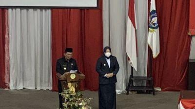 Gubernur dan Wakil Gubernur Kepri Sampaikan Sambutan Perdananya Pada Rapat Paripurna DPRD Kepri