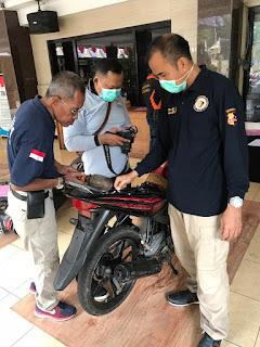 Polres Lumajang Datangkan Labfor untuk Cek Noka dan Nosin Motor Bodong
