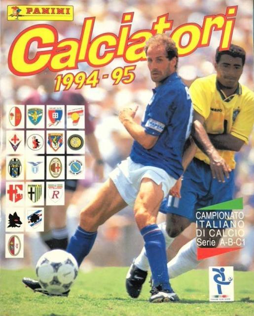 Copertina album Calciatori 94-95
