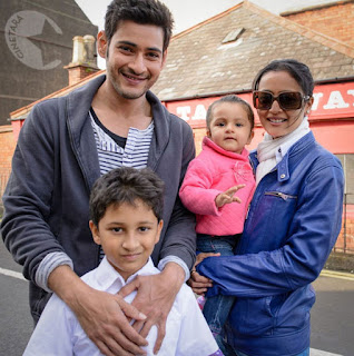 Mahesh Babu With Family Vacation Trip