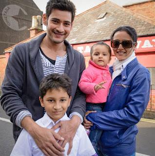 Mahesh Babu With Family Vacation Trip