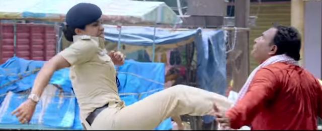 Priyanka chopra in the movie Jai gangajal.