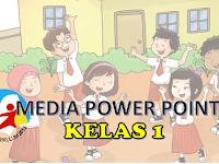 Media Pembelajaran Powerpoint K13 Kelas 1 SD