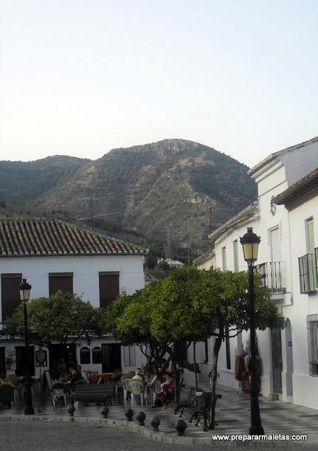 pueblos típicos andaluces en Málaga