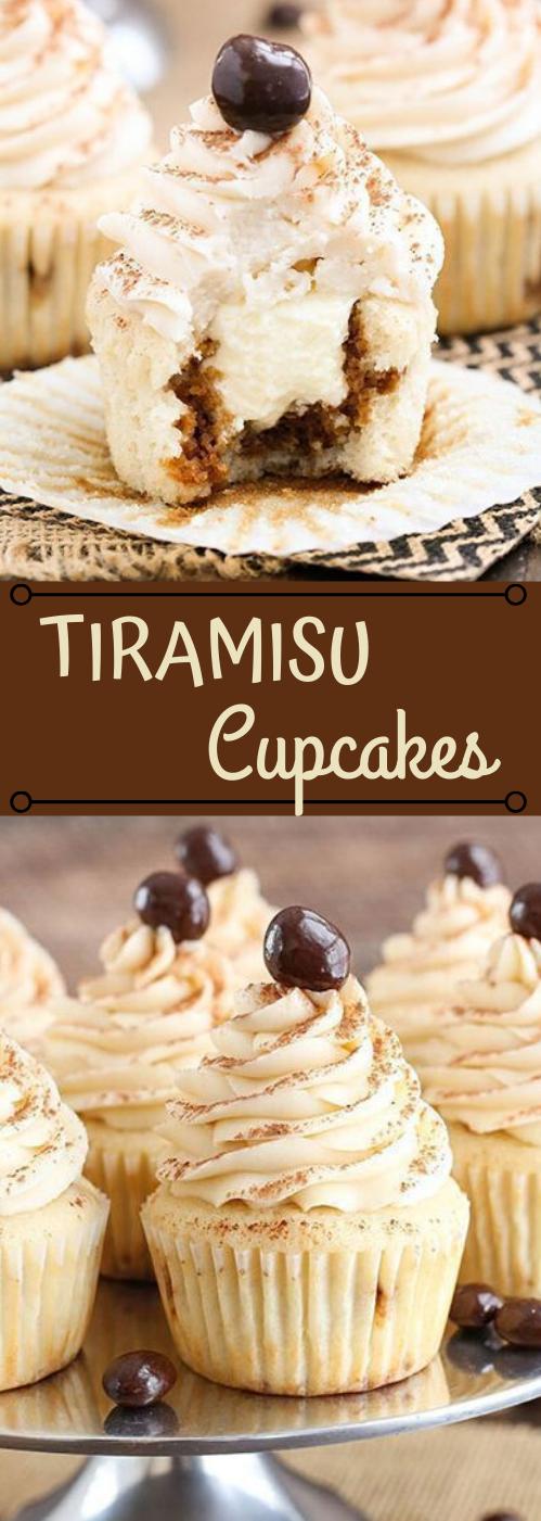 TIRAMISU CUPCAKES #desserts #cupcakes #easy #tiramisu #recipes