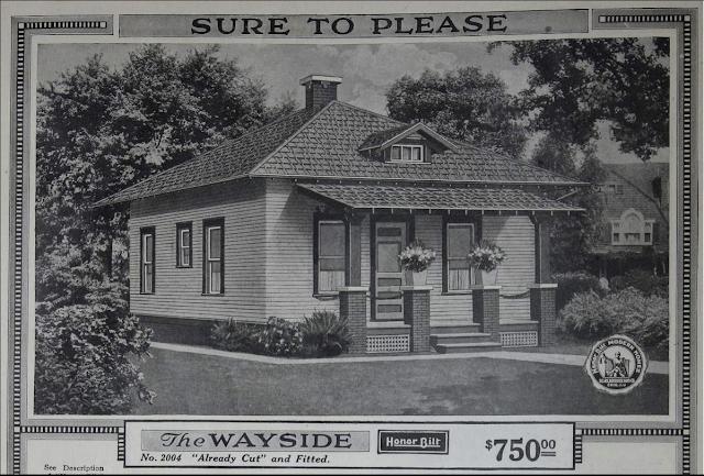 1918 catalog image of Sears Wayside