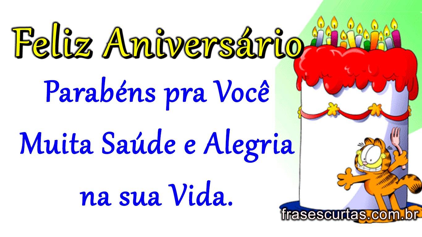 Imagens Bonitas De Feliz Aniversário Frases Curtas