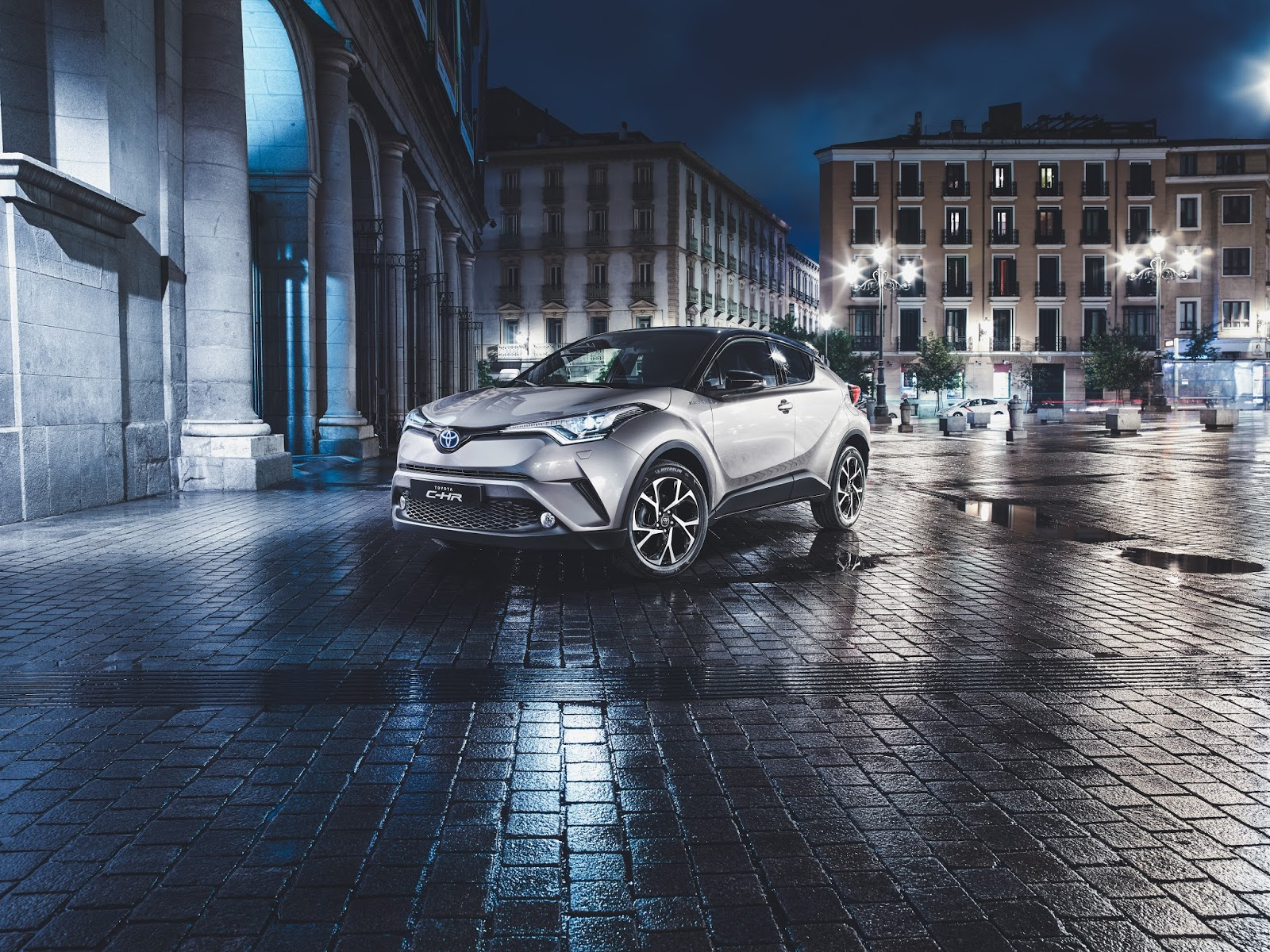 the night that flows toyota c-hr
