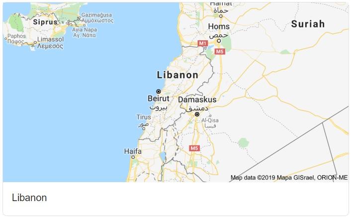 Lebanon Maps HD